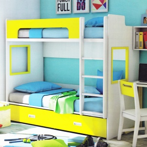 ANDY Bed Yellow 01