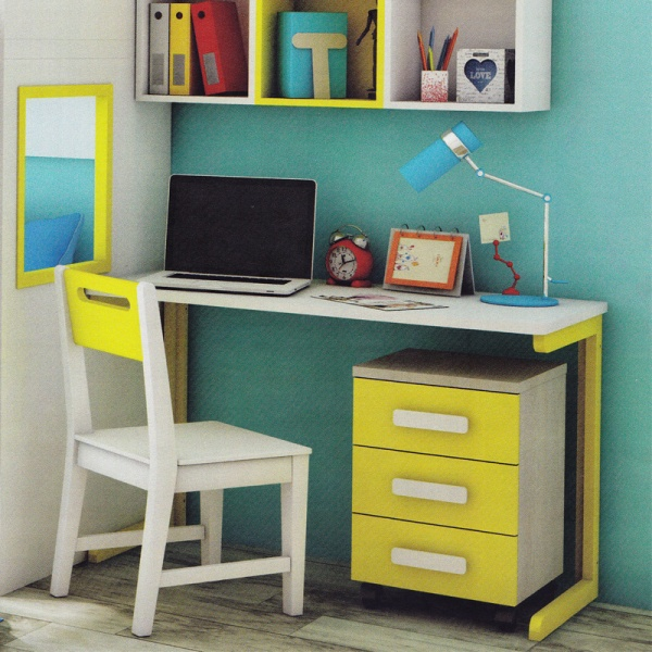 ANDY Desk Yellow 01