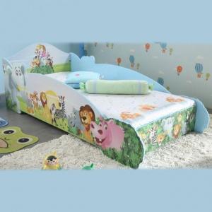 Safari Animals Design Bed