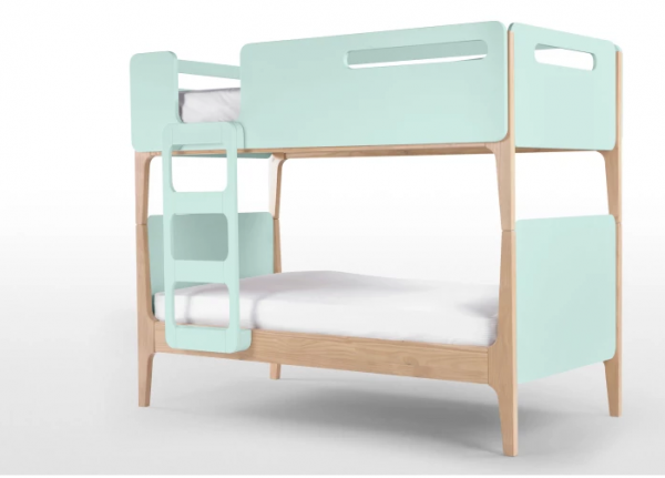 Designer double bed Turquoise View 2