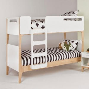Designer Double bed white