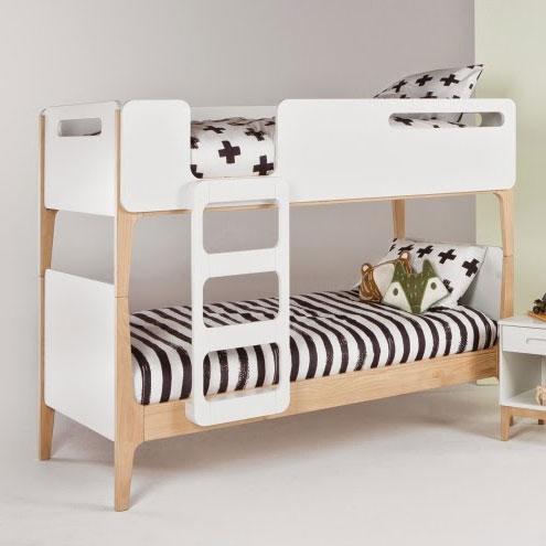 Designer Double bed white