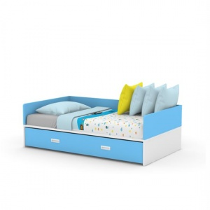 SOFA bed pullout blue-01