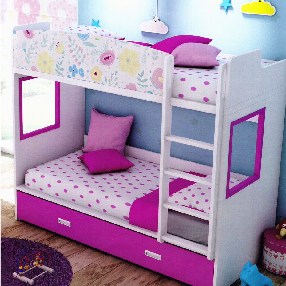 finest selection e33f9 afc8f FLOWER Bunk Bed