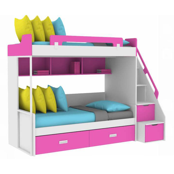 Nobel Bunk Bed Staircase D Chloe Kids Furniture
