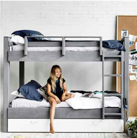Ashley Bunk Bed D Chloe Kids Furniture